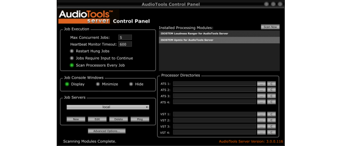 Plug-in für Minnetonka AudioTools Server
