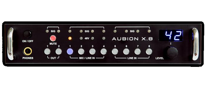 AUBION X.8 Frontansicht
