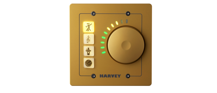 HARVEY Remote Control RC4 US-GO